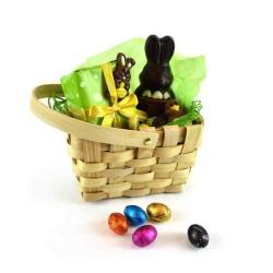 Panier de Pâques en osier