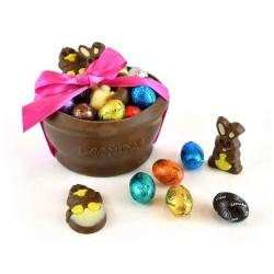 Bol en chocolat Garni